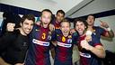 La vintena Lliga ASOBAL. FOTO: ÀLEX CAPARRÓS - FCB