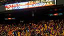 Afició al Camp Nou / FOTO: ÁLEX CAPARRÓS - FCB