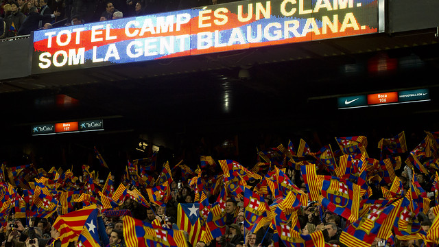 Camp Nou / PHOTO: ÁLEX CAPARRÓS - FCB