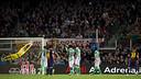 Le but de Messi sur coup-franc / PHOTO: ÀLEX CAPARRÓS-FCB