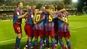 In 2006, Barça celebrated the title in Balaidos / PHOTO: MIGUEL RUIZ-FCB