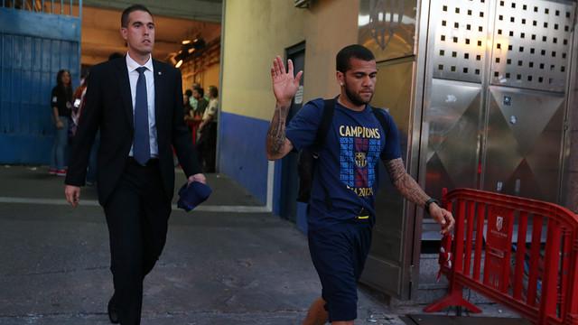 Dani Alves / PHOTO: MIGUEL RUIZ-FCB