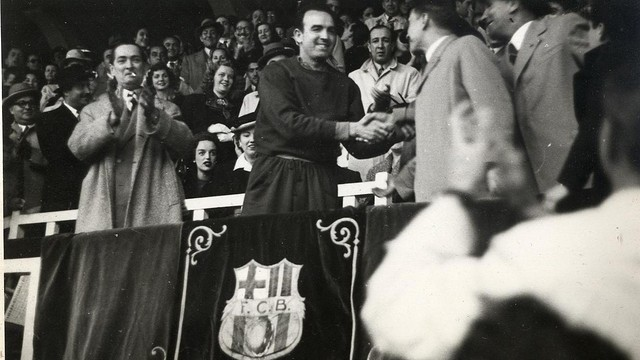 Enrique Fernndez. PHOTO: Archive FCB