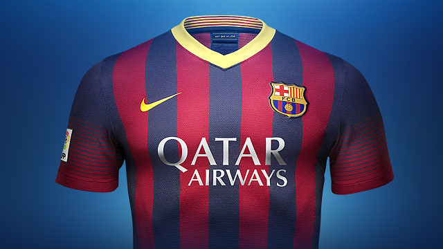 FC Barcelona 2013/14 home kit / PHOTO: FCB