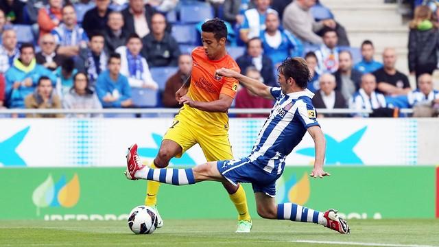 Thiago vs Espanyol / Photo: Miguel Ruiz - FCB
