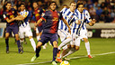 Sergi Roberto, playing for the first team / PHOTO: MIGUEL RUIZ - FCB