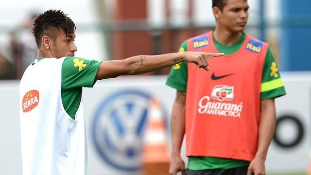 Neymar playing for Brazil / PHOTO: Neymar