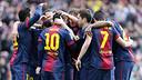 El FC Barcelona guanya el premi per tercer any consecutiu / FOTO: ARXIU FCB