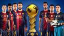 Sept joueurs pour un trophée