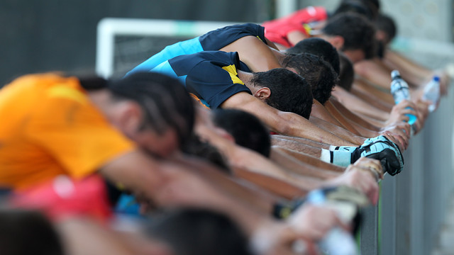 Training session / PHOTO: ARXIU FCB