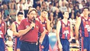 Manel Comas in 1997. PHOTO: ARCHIVE FCB.