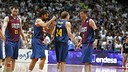 Mavro, Sada, Oleson and Wallace after the second game. PHOTO: ACBPHOTO