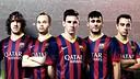 Qatar Airways and FC Barcelona.