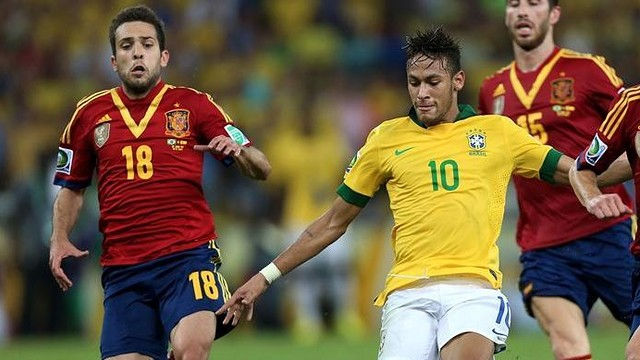 Neymar and Alba, in teh Confed Cup Final / PHOTO: FIFA.COM