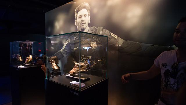 The Espai Leo Messi at the Club Museum / PHOTO: GERMÁN PARGA-FCB