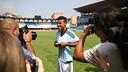 Rafinha, amb els mitjans. FOTO: CELTA DE VIGO