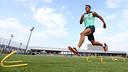 Alexis Sánchez, durant l'entrenament / FOTO: MIGUEL RUIZ-FCB
