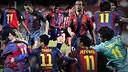 Barça's most recent number 11s