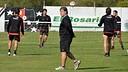 Gerardo 'Tata' Martino, en un entrenament amb Newell's. FOTO: www.newellsoldboys.com