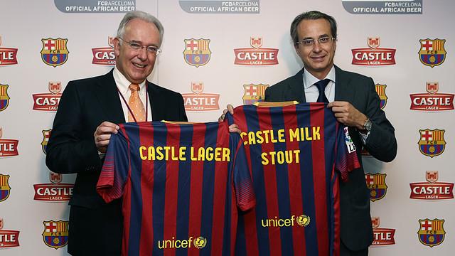 FC Barcelona & Castle Lager Partnership
