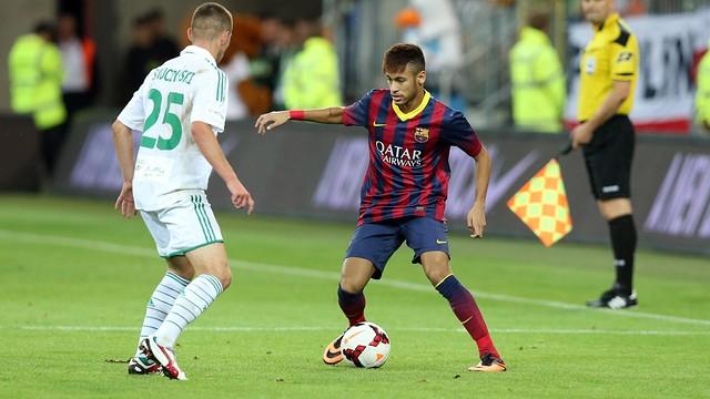 Neymar /  PHOTO: MIGUEL RUIZ-FCB