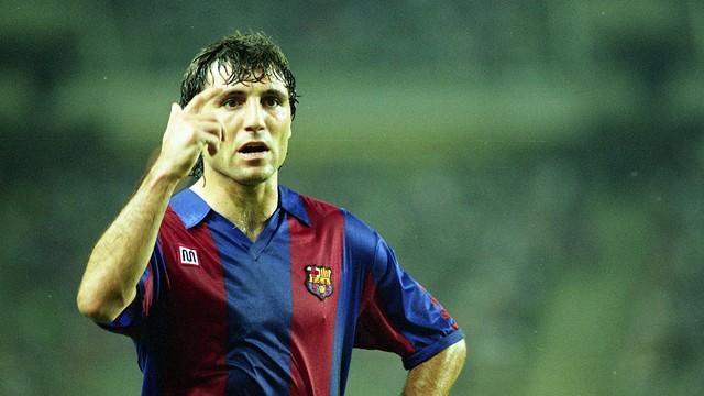 Hristo Stoitxkov in the 1989 Gamper. PHOTO: ARXIU FCB.