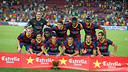 Yet another Joan Gamper win for Barça / PHOTO: MIGUEL RUIZ-FCB