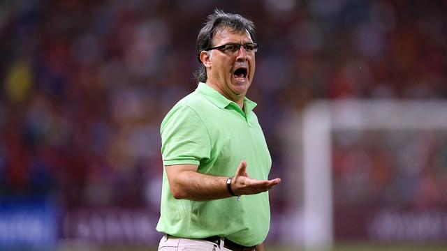 Tata Martino está a un paso de hacer historia en su primera temporada en el Barça. FOTO: MIGUEL RUIZ-FCB.