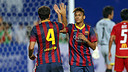 Neymar scored his first goal for Barcelona / PHOTO: MIGUEL RUIZ - FCB