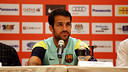 Cesc Fàbregas has spoken frankly to the press / PHOTO: MIGUEL RUIZ - FCB