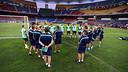 L'equip s'ha entrenat a Kuala Lumpur / FOTO: MIGUEL RUIZ - FCB