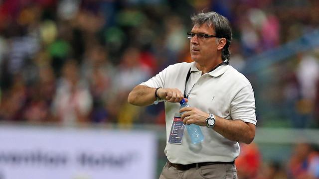 Tata Martino ha dirigido el último partido de la pretemporada / FOTO: MIGUEL RUIZ — FCB