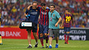 In the last match of the tour, Cesc Fàbregas left the pitch with an injury / PHOTO: MIGUEL RUIZ - FCB