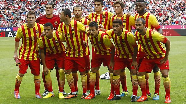 El Barça, a Munic. FOTO: MIGUEL RUIZ-FCB.