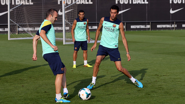 Tata Martino has named his 18-man squad for the league debut / PHOTO: MIGUEL RUIZ - FCB
