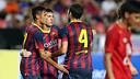 Neymar, Messi i Cesc. FOTO: MIGUEL RUIZ-FCB.