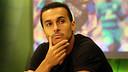Pedro was the guest on the 'El Marcador' show on Barça TV / PHOTO: MIGUEL RUIZ - FCB