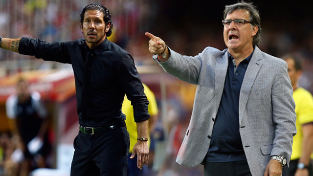 Tata Martino and Simeone will be meeting for the first time