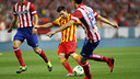 Messi in action against Atlético / PHOTO: MIGUEL RUIZ - FCB