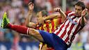 Iniesta, during the first leg / PHOTO: MIGUEL RUIZ-FCB
