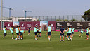The team trained on Saturday morning in the Ciutat Esportiva / PHOTO: MIGUEL RUIZ - FCB