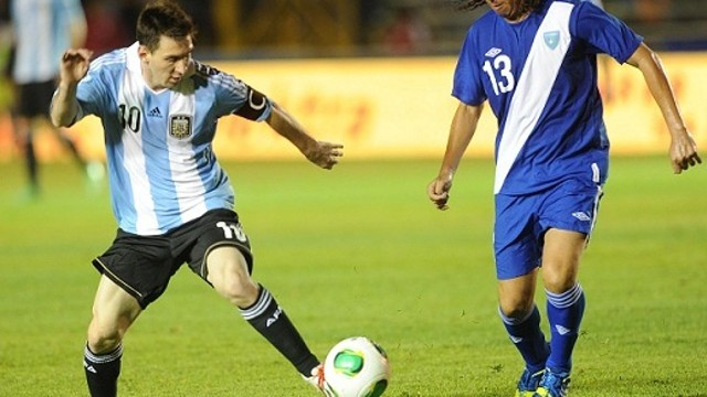 Leo Messi with Argentina / PHOTO: AFA