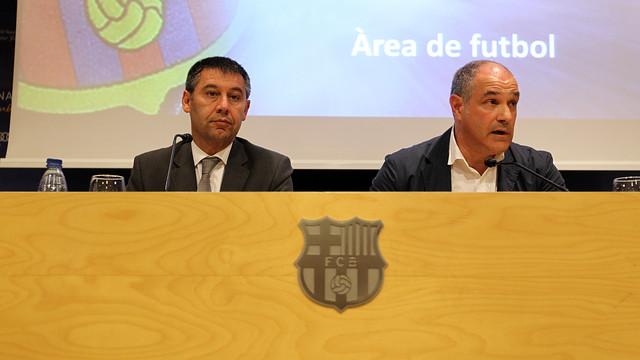 Bartomeu i Zubizarreta / FOTO: ARXIU FCB
