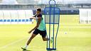 Cristian Tello, à l'entrainement / PHOTO: MIGUEL RUIZ - FCB