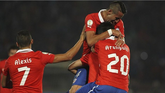 Alexis played the full 90 minutes against Venezuela / PHOTO: FIFA.COM