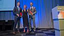 Jordi Monés with the award. PHOTO: V. SALGADO - FCB