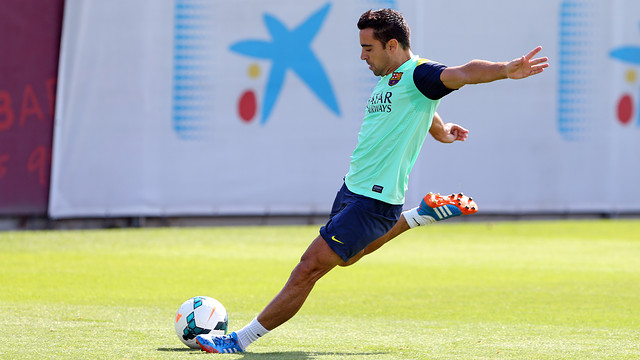 Xavi Hernández is back after being rested against Valencia / PHOTO: MIGUEL RUIZ - FCB