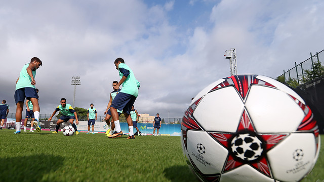 The team have started preparing for their Champions League debut / PHOTO: MIGUEL RUIZ - FCB