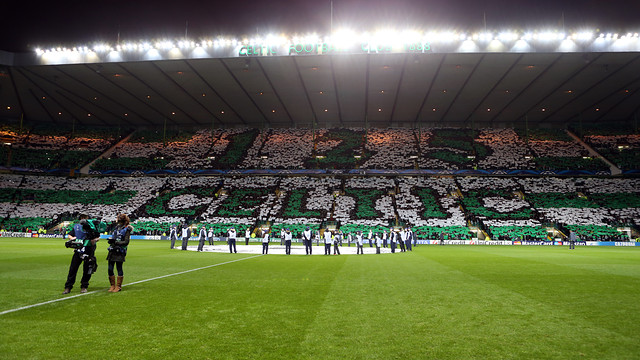 Barça will play in Celtic Park on October 1 / PHOTO: MIGUEL RUIZ - FCB