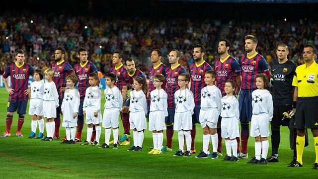 تصاویر بارسلونا 4 - 0 آژاکس - لئو خیلی راحت جواب رونالدو را داد